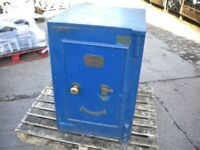 Vintage Safe Fire restisting Richard M Lord Wolverhampton lords invincible powder proof lock