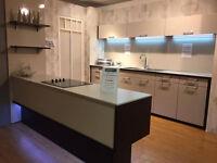 Kutchenhaus – Lux Sand Ex-Display kitchen complete with CDA appliances