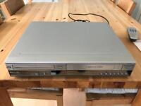 Philips DVDR3320V Video Cassette Recorder & DVD Video Player Recorder Combi Fully Working