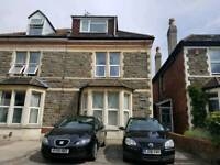 Large 2 bedroom garden flat available to rent in Bishopston with an off street parking space
