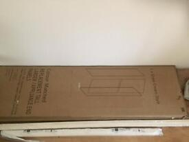 IT Kitchens Santini Gloss Cream Slab Contemporary Tall Larder Replacement Panel