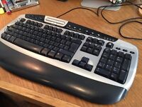 Logitech Wave Keyboard (£50 plus new) for Microsoft Computers: just £10 or a sane offer