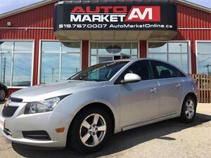 2012 Chevrolet Cruze LT Turbo, ALLOYS, WE APPROVE ALL CREDIT