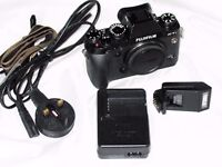 Fujifilm X-T1 Black Digital Camera Body , Boxed and with Extras, 3 Months Warranty