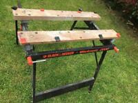 Black & Decker work bench