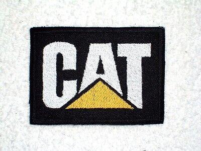 CAT Caterpillar Embroidered Patch Dozer, Excavator, equipment, diesel