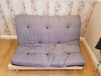 Double Futon Sofa Bed - Mint condition - Double sided