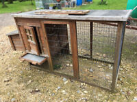 Used Chicken Coop Hen House Rabbits Ducks