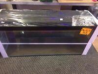 NEW 3FT GLASS FISH TANK