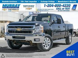 2012 Chevrolet SILVERADO 3500HD LTZ Crew Cab *Remote Start, Clim