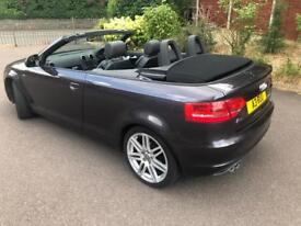 2009 AUDI A3 S LINE CONVERTIBLE