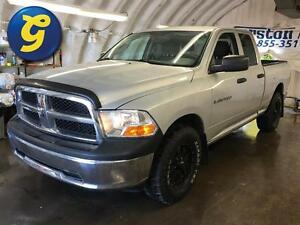 2011 Ram 1500 QUADCAB*4WD**TOW/HAUL MODE*TRAILER HITCH W/PLUG*
