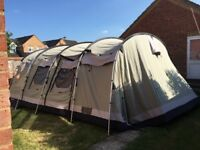 Outwell Wolf Lake 7 Tunnel Tent, very good condition