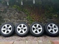 Alloy Wheels BMW X5 with tires 255/55/R18