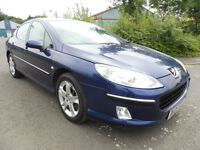 Peugeot 407 2.0 HDi 136 Diesel with April 2018 MOT
