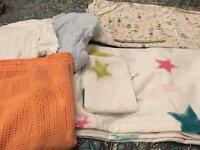 Cot bed bedding bundle