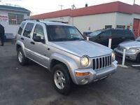 2002 Jeep Liberty LIMITED EDITION 4X4 3.7L V6 3250$ 514-692-0093