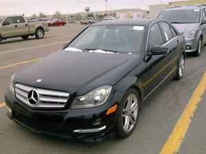 2013 Mercedes-Benz C-Class C300 4MATIC/68KMS/SUNROOF/LEATHER/AWD