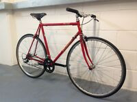 Specialized Allez early 90's Cromo road bike - fully rebuilt - upgraded parts
