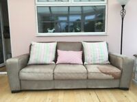 ***Free*** 2 and 3 seater leather sofas.