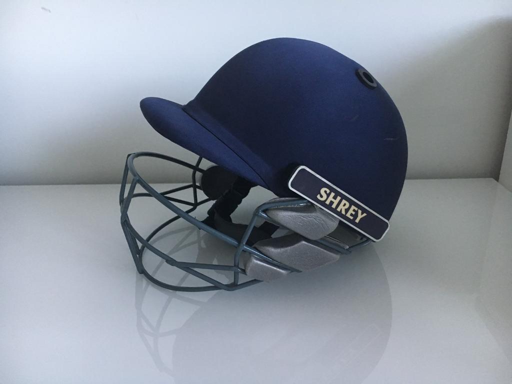 Shrey cricket helmet