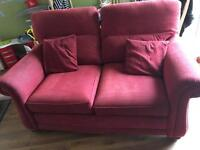 Couch and 2 recliner chairs FREE