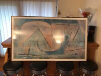 Abstract picture including frame
