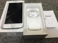 Apple I phone 7 silver 32gb nearly new