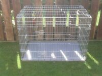 GOG CAGE X LARGE WITH METAL TRAY £40