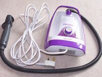 """efbc-Schoot """"Hipster"""" portable Steam Cleaner and all accessories,used very rarely."""