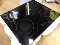 Electric ceramic hob all working