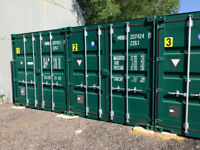 Self Access storage containers available to let