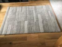 Grey Wool rug