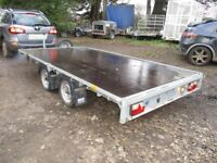 MEREDITH & EYRE 12-0 X 6-6 TWIN AXLE (2600KG) FLATBED TRAILER.........
