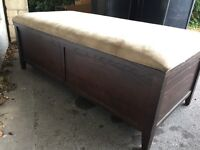 Ottoman/storage unit/trunk - free if you collect
