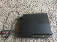 PS3 and power cable