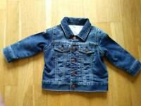 New never worn Baby Gap denim jacket 6-12 months
