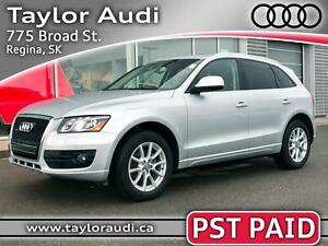 2012 Audi Q5 3.2 Premium PST PAID, LOCAL TRADE, NAV, REMOTE S...