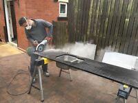 Granite and quartz worktop repairs