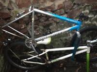 Job lot x 3 push bike frame Specialised Hardrock, Voodoo Shangu, GT palmer
