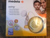 Medela Swing electric 2-phase breastpump - as new