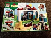 Duplo Lego set missing shovel