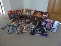 Large Doctor Who Collection - figures, games, books, puzzles, mini figures, K9 and Dalek models