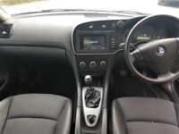 2008 FACELIFT SAAB 93 9-3 AIRFLOW, HALF LEATHER, SERVICE HISTORY, FULL MOT, TWO KEYS
