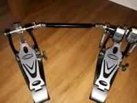 Double drum bass pedal Millenium