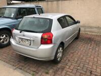 Toyota Corolla left hand drive