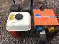 Belle minigen 2000 generator Honda 5.5hp
