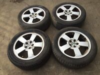 "Skoda Fabia / Octavia 16"" alloy wheels - excellent tyres"