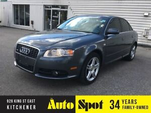 2008 Audi A4 2.0T/LOW, LOW KMS!/PRISTINE/PRICED -QUICK SALE!