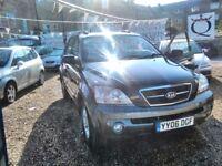 2006 kia sorento 2497 cc diesel only 97.000 miles one owner from new full MOT full service history